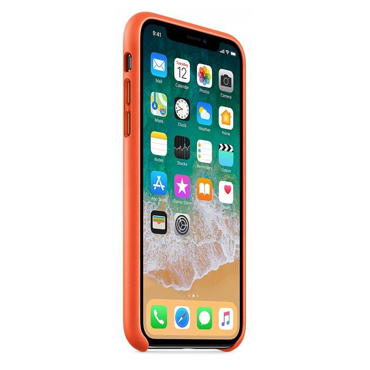 Cyfra.eu - Skórzane etui do Apple iPhone X/XS