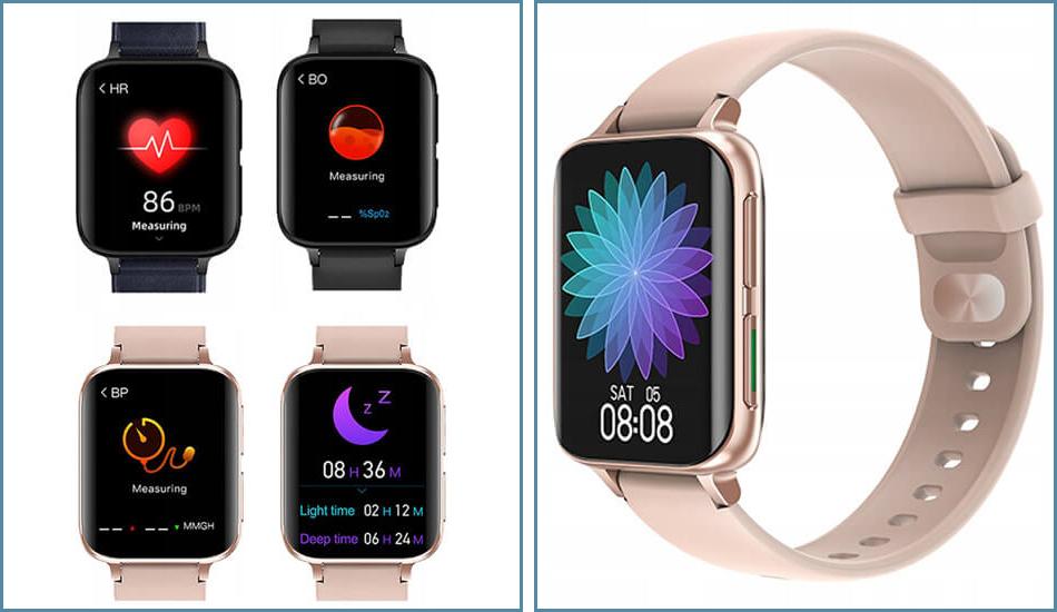 ⚡ Zegarek Smartwatch DT93 Różowy Różowy ⚡ Cyfra.eu - sklep z elektroniką  użytkową
