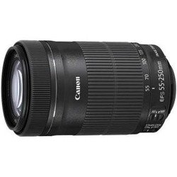 Obiektyw  Canon EF-S 55-250mm f/4-5.6 IS STM + filtr UV 58mm Gratis