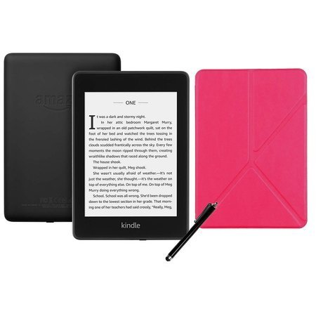 Czytnik Amazon Kindle Paperwhite 4 2019 8 GB bez reklam Czarny + Etui Origami