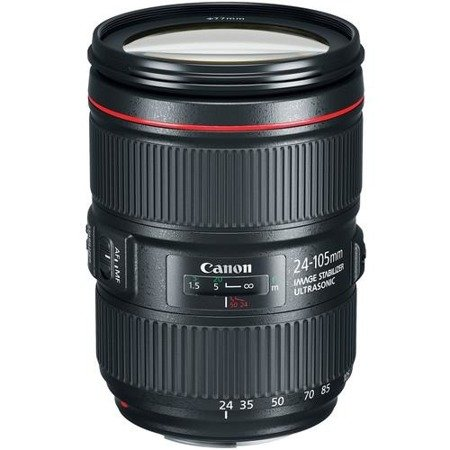 Obiektyw Canon 24-105mm f/4.0L EF IS II USM (OEM) + filtr UV 77 MM GRATIS!
