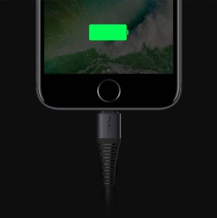 ROCK Kabel USB iPhone 6 7 8 X 10 lightning 200 cm