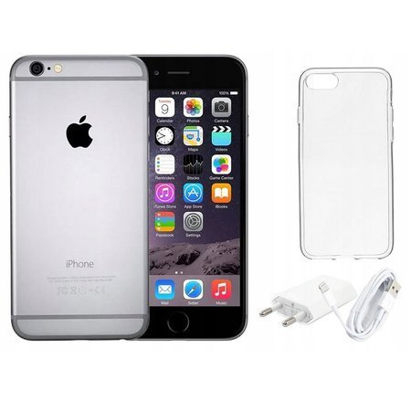 Smartfon Apple iPhone 6 Space Gray 16 GB Odnowiony + Gratisy